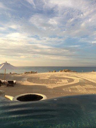 Las Ventanas al Paraiso, A Rosewood Resort: perfect personalized sand!