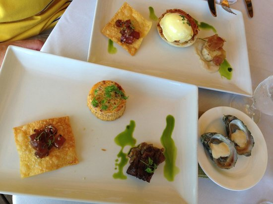 The Dining Room at Little Palm Island: The a la carte items we enjoyed