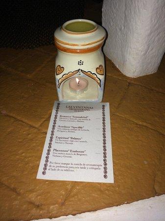 Las Ventanas al Paraiso, A Rosewood Resort: nightly aromatherapy!