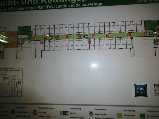 Ibis Budget Dresden City: Exit information