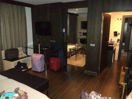 Melia Sol y Nieve: Habitación Premium super amplia y cómoda