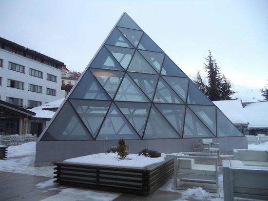 Melia Sol y Nieve: Pirámide del SPA
