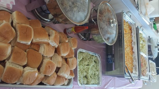Rocky Mount BBQ: N.C. style BBQ for a baby shower catering