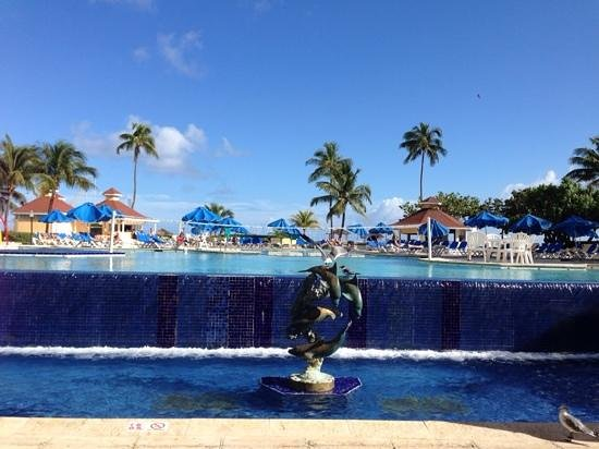 Breezes Resort & Spa Bahamas : view from buffet dining