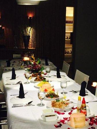 Toraja Villa: farewell dinner