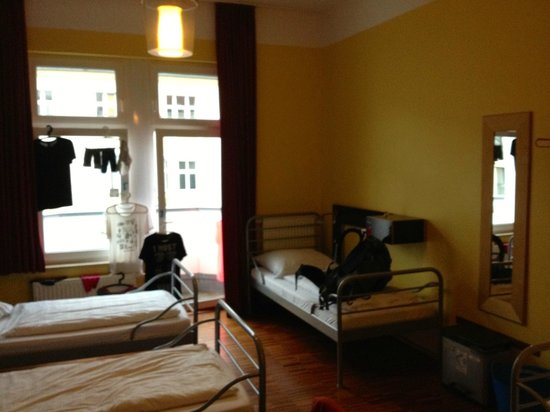 The Circus Hostel: A typical hostel room at The Circus