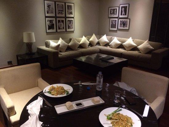 Nikki Beach Resort & Spa: Living room