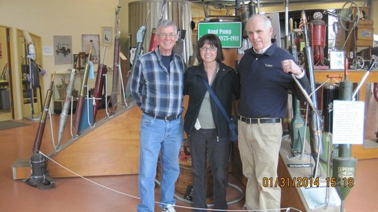 Museum of Clean : Your tour guide Don Aslett is on the right