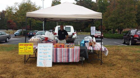 Rocky Mount BBQ: Kiln Creek Fall Festival