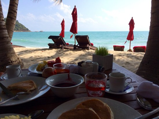 Anantara Rasananda Koh Phangan Villas: Breakfast