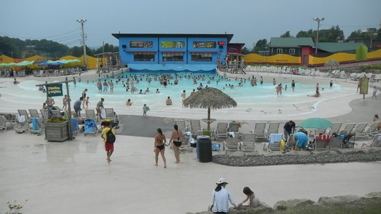 Ski Bromont Water Park: Parque Acuatico