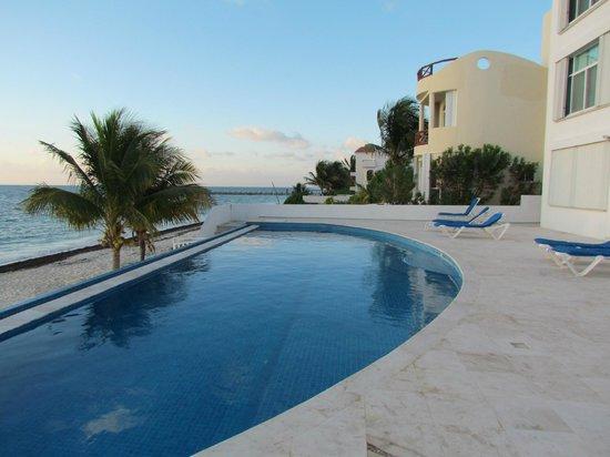 Costa Blanca Condos : Pool View