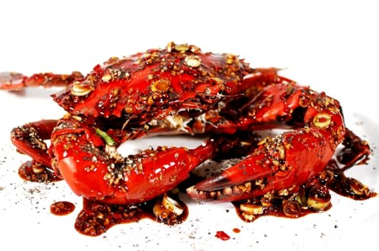 Seafood House: Black Pepper Crab