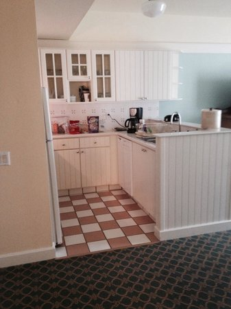 Disney's BoardWalk Villas: Kitchen in a one bedroom villa