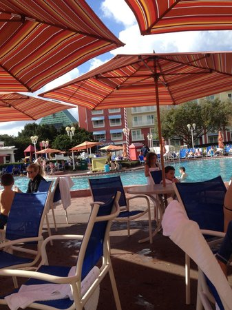Disney's BoardWalk Villas: Pool at the boardwalk