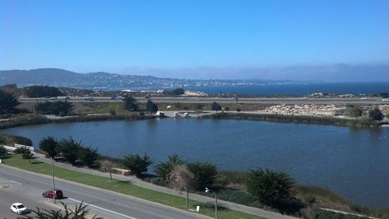 Embassy Suites by Hilton Hotel Monterey Bay - Seaside: View from my room's window.