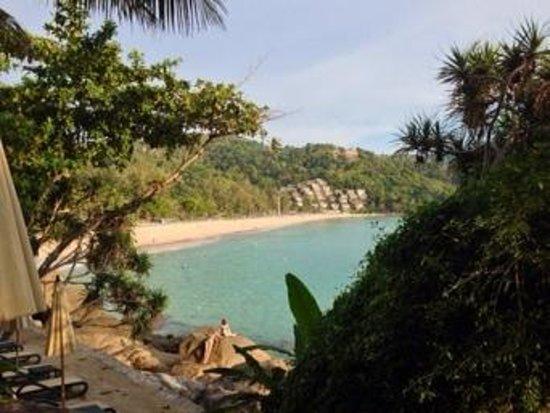 Kata Noi Beach : View of Kata Noi from Mom Tri's Villa