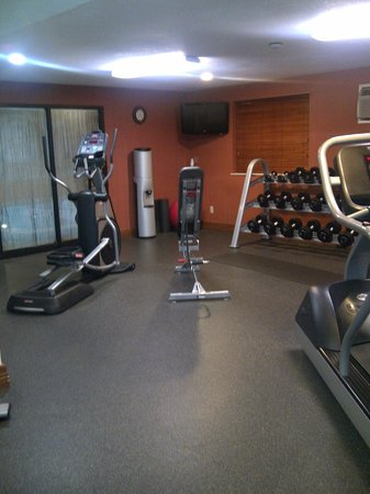 Hampton Inn Portland Clackamas : Fitness Room