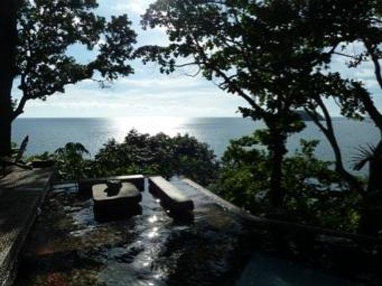 Mom Tri's Villa Royale: view from the ocean villas pool