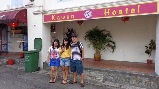 Kawan Hostel's front