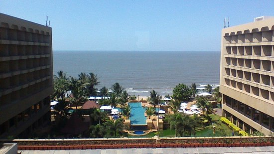 JW Marriott Mumbai Juhu: view from the lounge