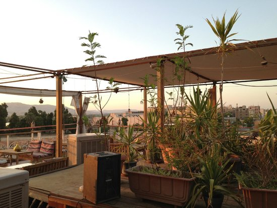 Nefertiti Hotel: Roof terrace
