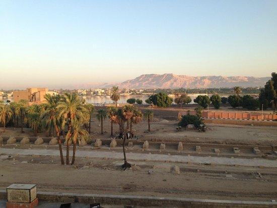 Nefertiti Hotel: View on the roof terrace