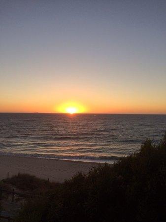 Sunset from Barchetta Restaurant
