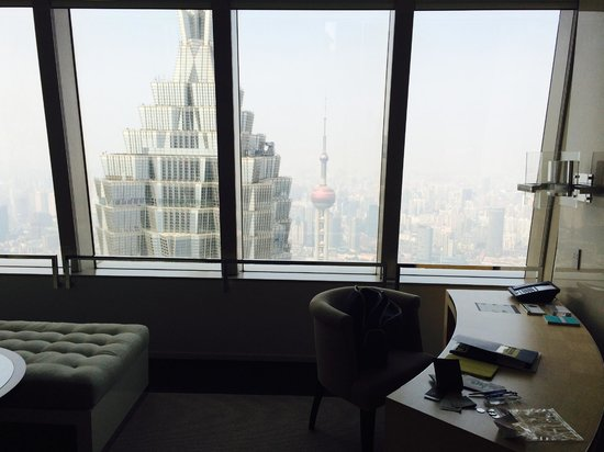 Park Hyatt Shanghai: increibles vistas de Shanghai