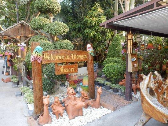 Thong Ta Resort: レストラン入口