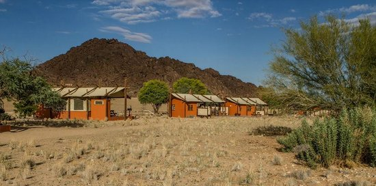 Desert Camp: Beautifully appointed accommodation.