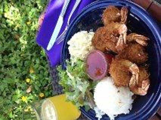 Kinaole Grill Food Truck: Coconut Shrimp...