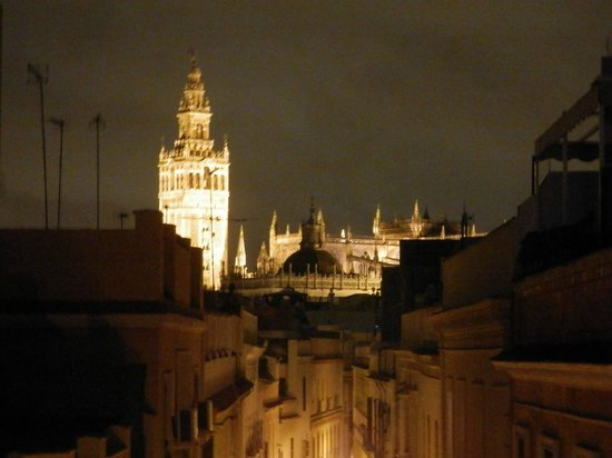 SleepinSevilla Apartamentos Quiros: panorama camera
