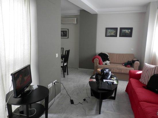 SleepinSevilla Apartaments: ingresso