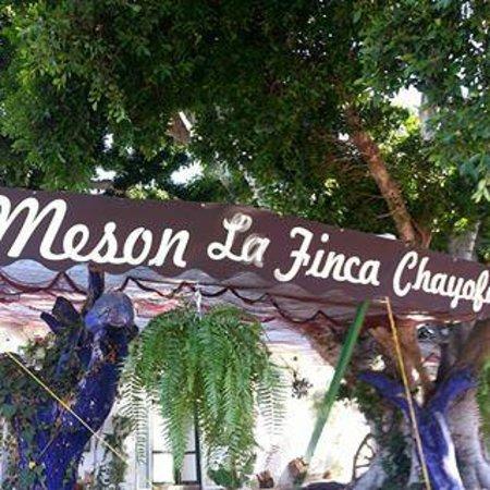 La Finca Restaurant Chayofa Tenerife