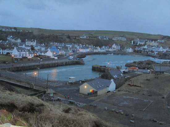 The Portpatrick Hotel : The Harbour at Portpatrick from the hotel
