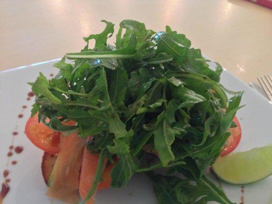 Under Wraps: Salmon stack breakfast