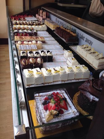 Patisserie Valerie - Lincoln: Cakes displayed