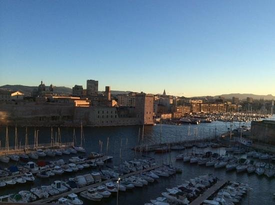 Sofitel Marseille Vieux-Port: view from our room