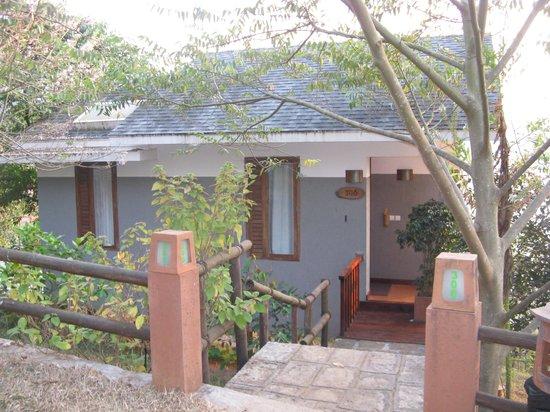 Wayanad Silverwoods : exterior view of room
