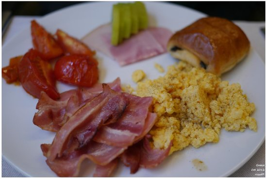O&B Athens Boutique Hotel: nice breakfast