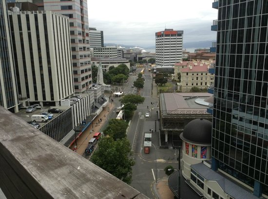 Quest on Lambton Serviced Apartments: View from our room