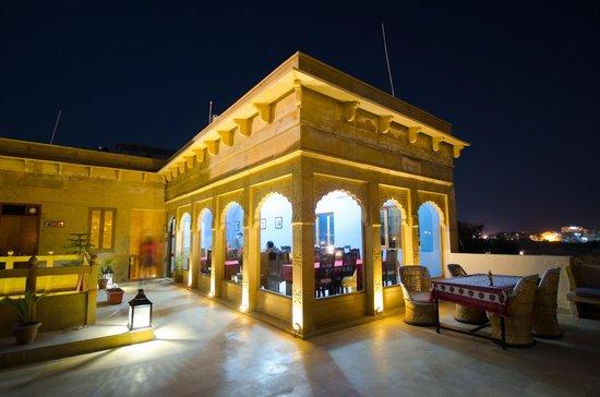 The Gulaal : Restaurant/Dining on the terrace