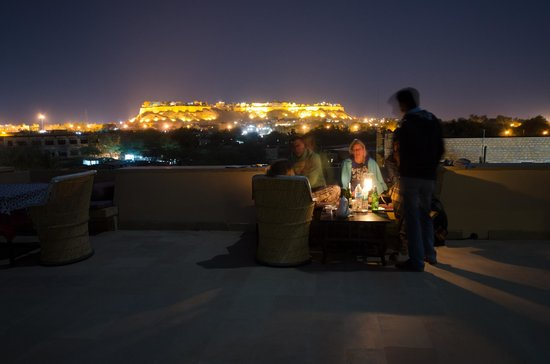 The Gulaal : View of the Fort from the terrace