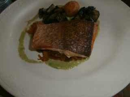 Fillaudeau's: Salmon with yummy veges
