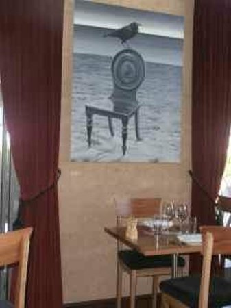 Fillaudeau's: Artwork in the dining room