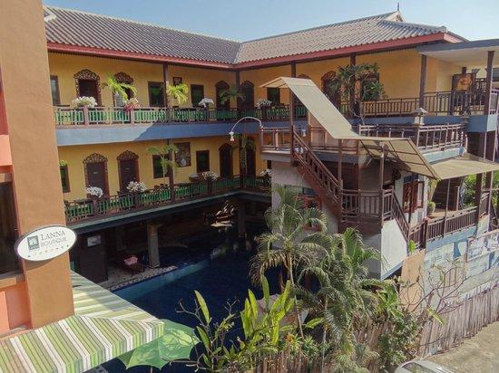 Lanna Boutique Resort: vue generale de l'hotel