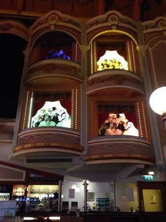 The Palladium: The old boxes