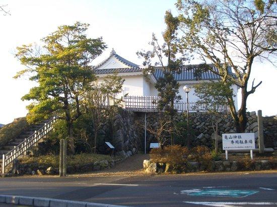 Ruins of Kameyama Catsle : 亀山城跡