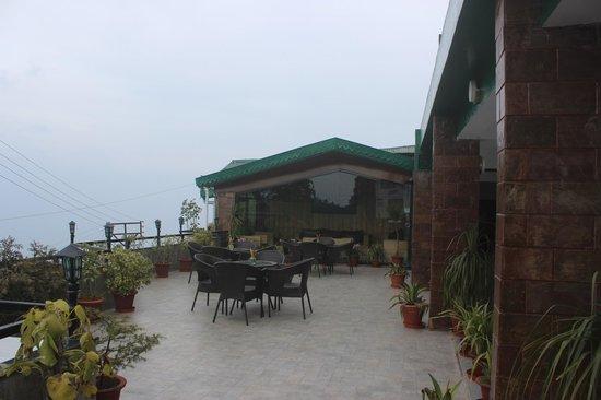The Retreat: Terrace.